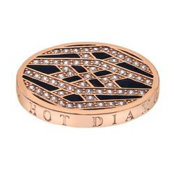 Pøívìsek Hot Diamonds Emozioni Art Deco Classic Rose Coin
