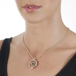 Obrázek è. 14 k produktu: Pøívìsek Hot Diamonds Emozioni Art Deco Sunrise Yellow Coin