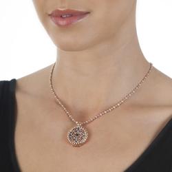 Obrázek è. 4 k produktu: Pøívìsek Hot Diamonds Emozioni Victorian Silver and Rose Coin