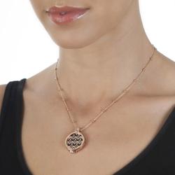 Obrázek č. 15 k produktu: Přívěsek Hot Diamonds Emozioni Art Deco Wave Rose Coin