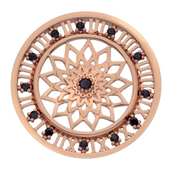 Pøívìsek Hot Diamonds Emozioni Time Traveller RG Coin