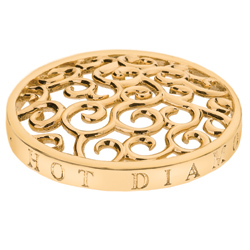 Pøívìsek Hot Diamonds Emozioni Winding Path Yellow Gold Coin