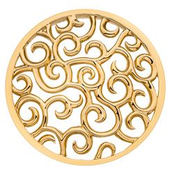 Obrázek č. 2 k produktu: Přívěsek Hot Diamonds Emozioni Winding Path Yellow Gold Coin