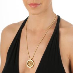Obrázek č. 7 k produktu: Přívěsek Hot Diamonds Emozioni Winding Path Yellow Gold Coin