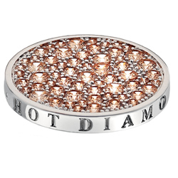 Pøívìsek Hot Diamonds Emozioni Scintilla Champagne Loyalty Coin