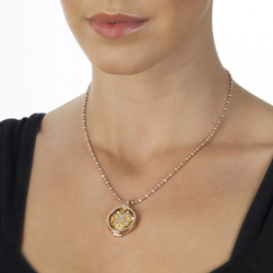 Obrázek è. 4 k produktu: Pøívìsek Hot Diamonds Emozioni Fiore di Loto Gold Coin