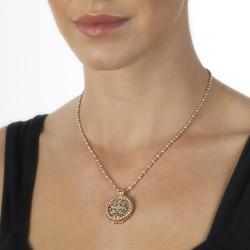 Obrázek è. 4 k produktu: Pøívìsek Hot Diamonds Emozioni Radici Rose Gold Coin