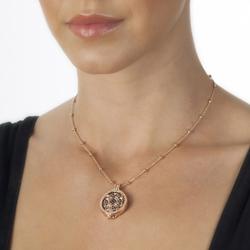 Obrázek è. 4 k produktu: Pøívìsek Hot Diamonds Emozioni Fiore di Loto Rose Gold Coin