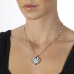 Obrázek è. 4 k produktu: Pøívìsek Hot Diamonds Emozioni Fiore di Loto Coin