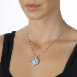 Obrázek è. 4 k produktu: Pøívìsek Hot Diamonds Emozioni Prisma Turquoise Coin