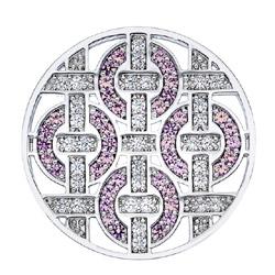 Obrázek è. 6 k produktu: Pøívìsek Hot Diamonds Emozioni Telaio Pink Coin