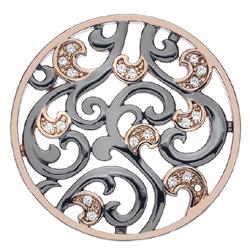 Obrázek è. 6 k produktu: Pøívìsek Hot Diamonds Emozioni Edera Rose Gold Coin