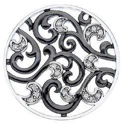 Obrázek è. 8 k produktu: Pøívìsek Hot Diamonds Emozioni Edera Oxidised Coin