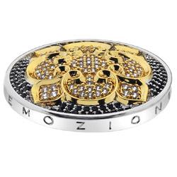 Pøívìsek Hot Diamonds Emozioni Fiore di Loto Gold Coin