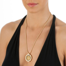 Obrázek è. 2 k produktu: Pøívìsek Hot Diamonds Emozioni Fiore di Loto Gold Coin