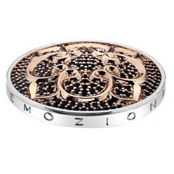 Pøívìsek Hot Diamonds Emozioni Fiore di Loto Rose Gold Coin