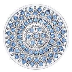 Obrázek è. 6 k produktu: Pøívìsek Hot Diamonds Emozioni Prisma Azure Coin