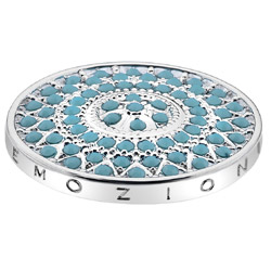 Pøívìsek Hot Diamonds Emozioni Prisma Turquoise Coin