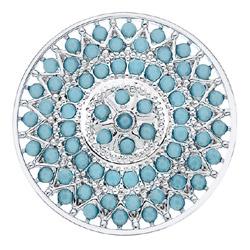 Obrázek è. 6 k produktu: Pøívìsek Hot Diamonds Emozioni Prisma Turquoise Coin