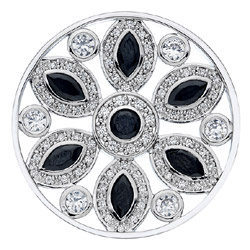 Obrázek è. 6 k produktu: Pøívìsek Hot Diamonds Emozioni Girasole Black Coin