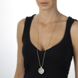 Obrázek è. 2 k produktu: Pøívìsek Hot Diamonds Emozioni Girasole Black Coin