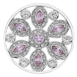 Obrázek è. 6 k produktu: Pøívìsek Hot Diamonds Emozioni Girasole Pink Coin