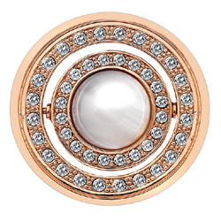 Obrázek è. 2 k produktu: Pøívìsek Hot Diamonds Emozioni Giorno e Notte Rose Gold Coin