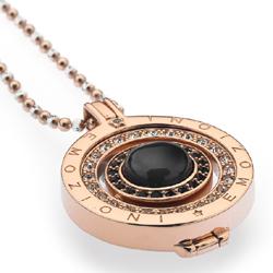 Obrázek è. 8 k produktu: Pøívìsek Hot Diamonds Emozioni Giorno e Notte Rose Gold Coin