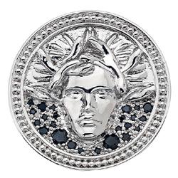 Obrázek è. 2 k produktu: Pøívìsek Hot Diamonds Emozioni Medusa Nera Coin