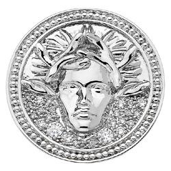 Obrázek è. 2 k produktu: Pøívìsek Hot Diamonds Emozioni Medusa Bianca Coin