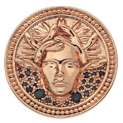 Obrázek è. 6 k produktu: Pøívìsek Hot Diamonds Emozioni Medusa Nera Rose Gold Coin