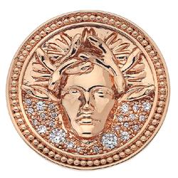 Obrázek è. 6 k produktu: Pøívìsek Hot Diamonds Emozioni Medusa Bianca Rose Gold Coin