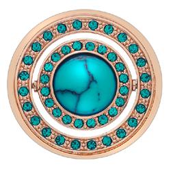 Obrázek è. 4 k produktu: Pøívìsek Hot Diamonds Emozioni Mare e Nubi Rose Gold Coin
