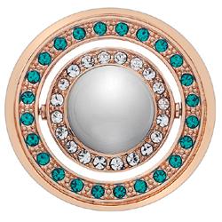 Obrázek è. 6 k produktu: Pøívìsek Hot Diamonds Emozioni Mare e Nubi Rose Gold Coin