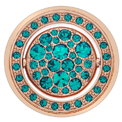 Obrázek č. 2 k produktu: Přívěsek Hot Diamonds Emozioni Acqua e Aria Rose Gold Coin