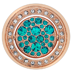 Obrázek è. 8 k produktu: Pøívìsek Hot Diamonds Emozioni Acqua e Aria Rose Gold Coin