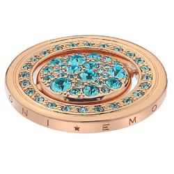 Pøívìsek Hot Diamonds Emozioni Autunno e Inverno Rose Gold Coin
