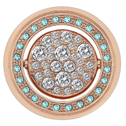 Obrázek è. 6 k produktu: Pøívìsek Hot Diamonds Emozioni Autunno e Inverno Rose Gold Coin