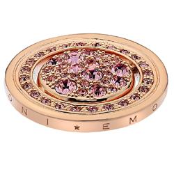 Pøívìsek Hot Diamonds Emozioni Estate e Primavera Rose Gold Coin