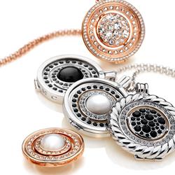 Obrázek è. 4 k produktu: Pøívìsek Hot Diamonds Emozioni Medusa Nera Rose Gold Coin
