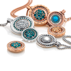 Obrázek è. 2 k produktu: Pøívìsek Hot Diamonds Emozioni Medusa Nera Rose Gold Coin