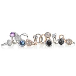 Obrázek è. 6 k produktu: Støíbrný prsten Hot Diamonds Emozioni Laghetto Black