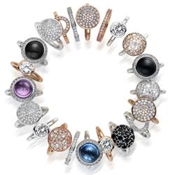 Obrázek è. 8 k produktu: Støíbrný prsten Hot Diamonds Emozioni Laghetto Black