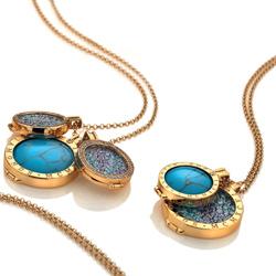 Obrázek è. 4 k produktu: Pøívìsek Hot Diamonds Emozioni Alveare Gold Coin