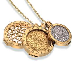 Obrázek č. 1 k produktu: Přívěsek Hot Diamonds Emozioni Percorso Mystical Map Yellow Gold Coin
