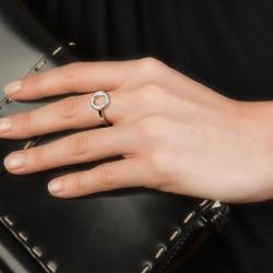 Obrázek è. 12 k produktu: Støíbrný prsten Hot Diamonds Emozioni Saturno Silver