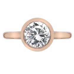 Obrázek č. 1 k produktu: Stříbrný prsten Hot Diamonds Emozioni Riflessi Rose Gold