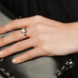 Obrázek č. 9 k produktu: Stříbrný prsten Hot Diamonds Emozioni Riflessi Rose Gold