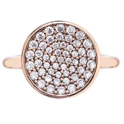 Obrázek č. 1 k produktu: Stříbrný prsten Hot Diamonds Emozioni Scintilla Rose Gold