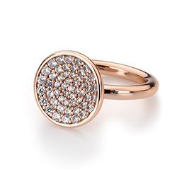 Obrázek è. 10 k produktu: Støíbrný prsten Hot Diamonds Emozioni Scintilla Rose Gold